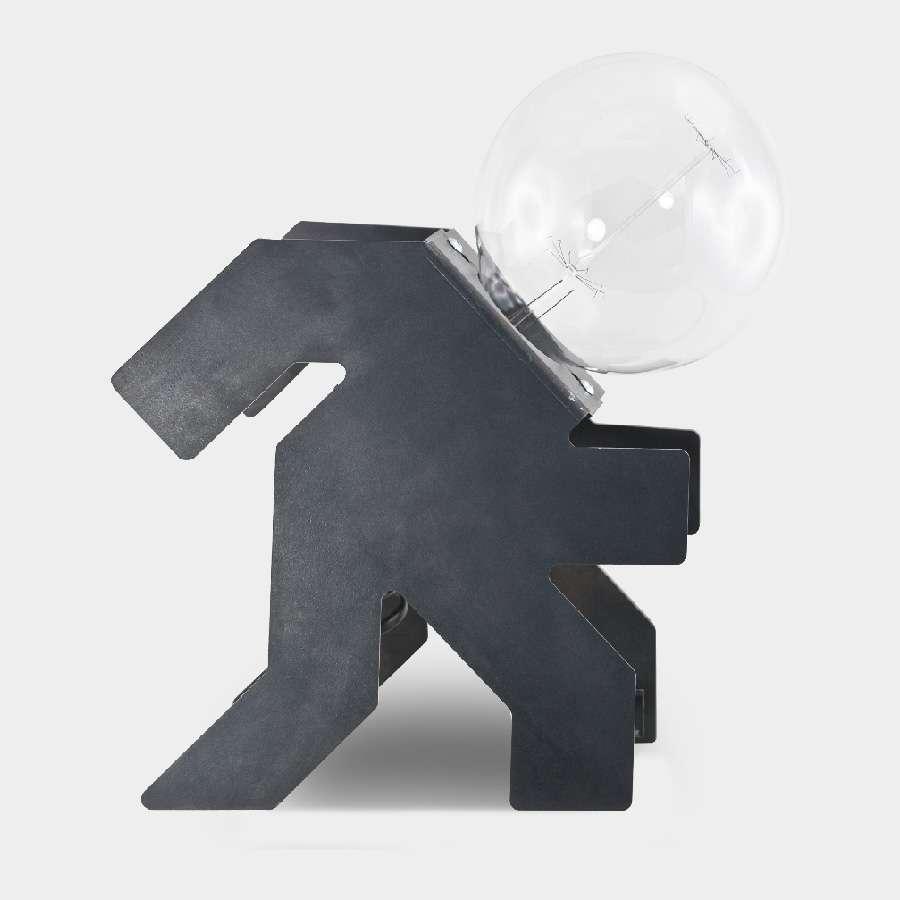 lomino-che-corre lampada da tavolo