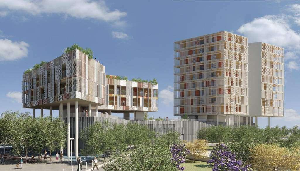 Contemporary architecture in rome the citt del sole for Architettura moderna case