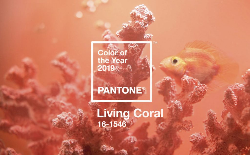 Living Dasa Coral 1546 Year Officine 2019 Of The Color Pantone 16 gy76fb